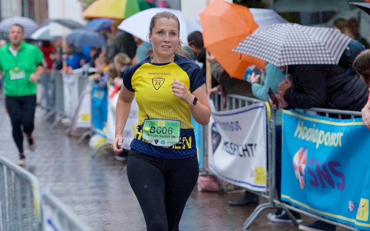Carlien liep haar eerste wedstrijd: 'Ik heb nog nooit zoiets leuks gedaan'