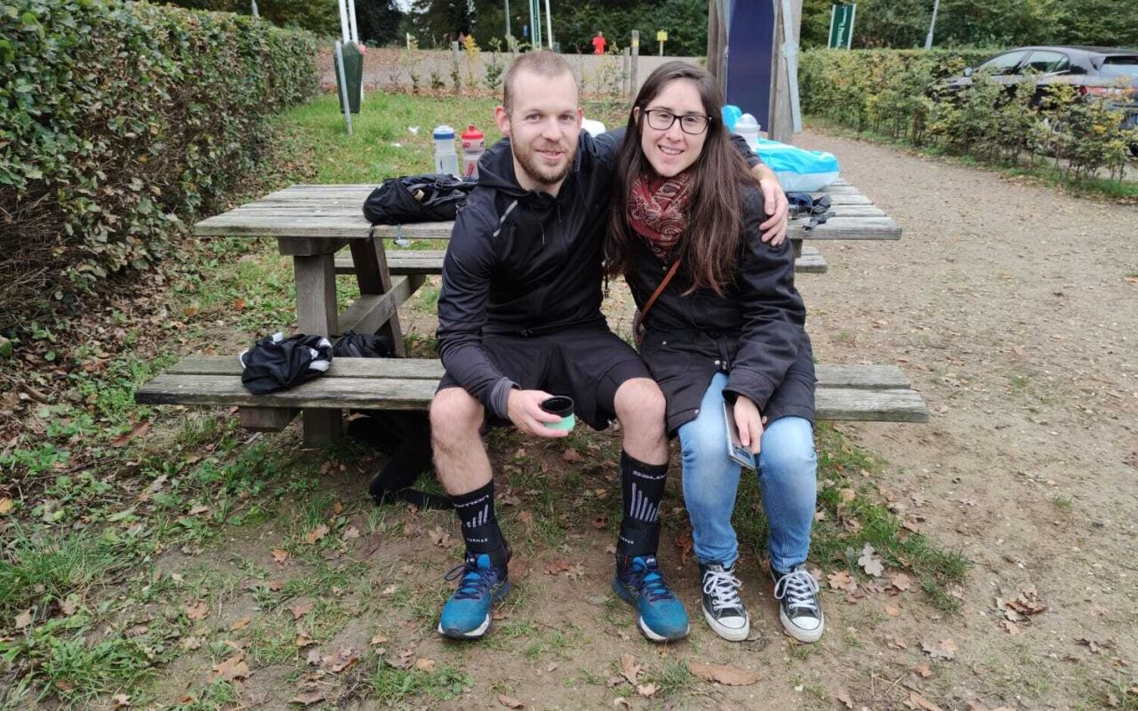 Danny van Haren liep 100 kilometer voor het goede doel