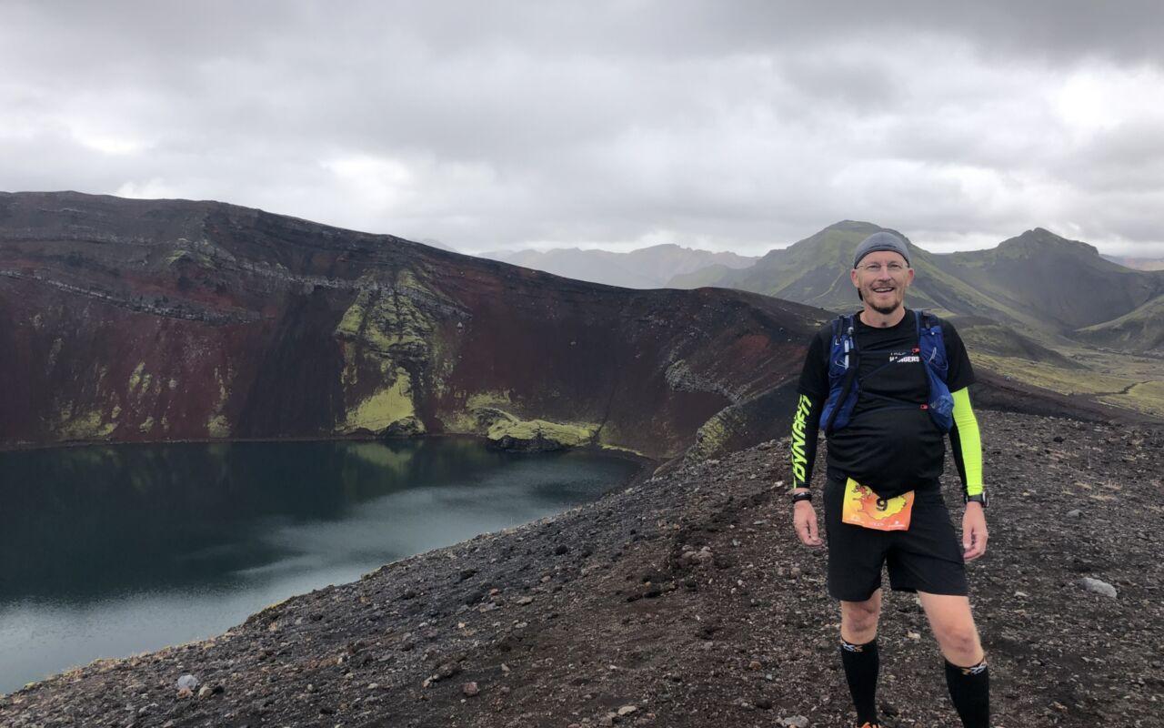 Hardlopend IJsland ontdekken zoals Dennis Vangangel