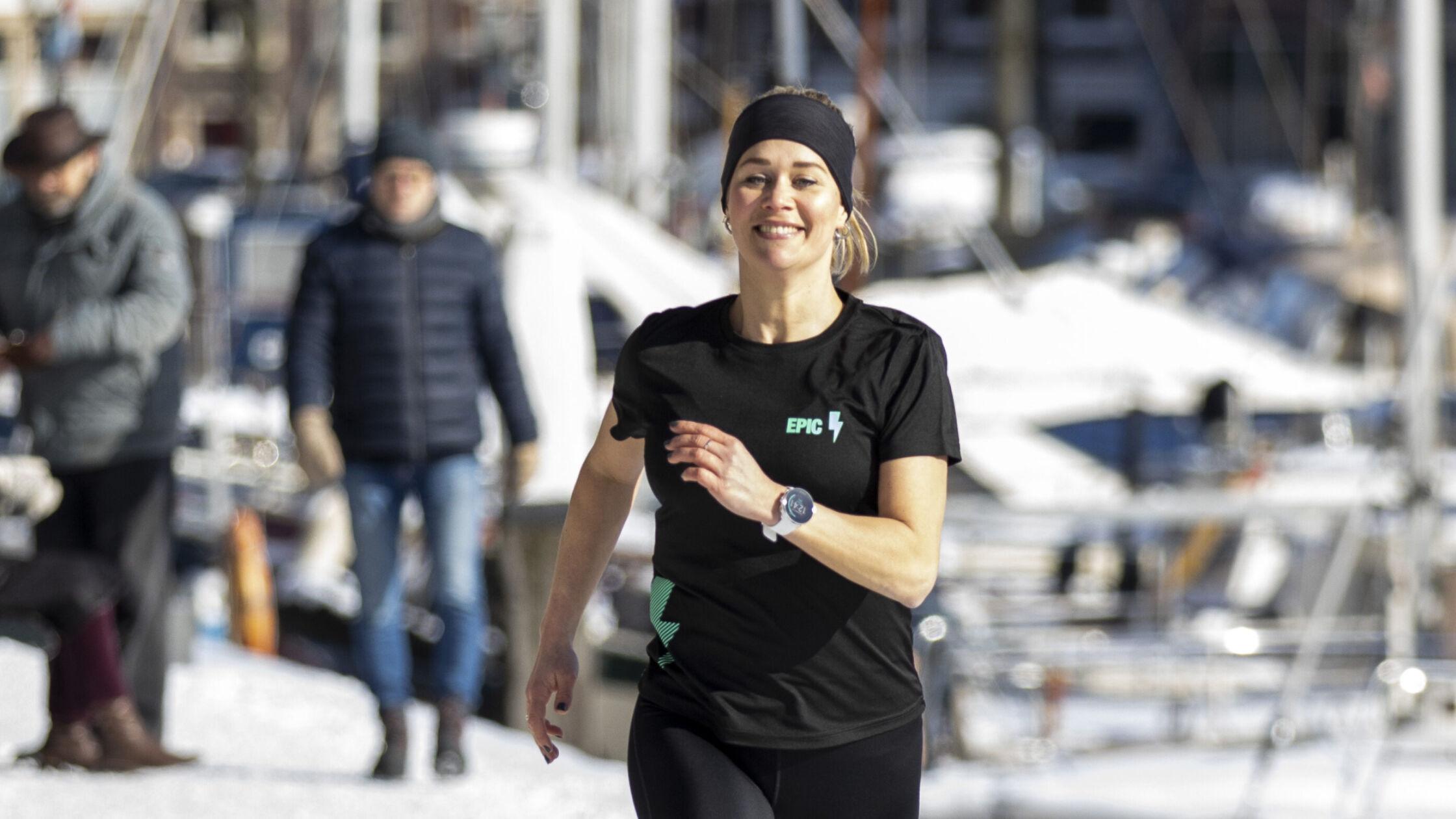 Angela Kooijman begon met hardlopen door de coronacrisis