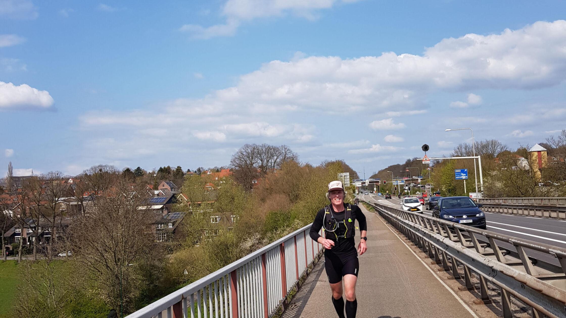 Paul liep in één dag dwars door Nederland