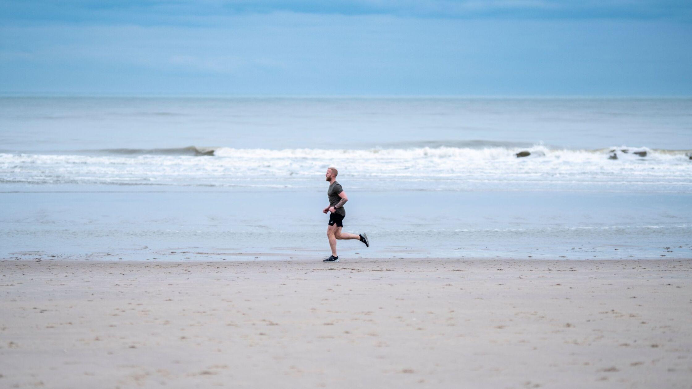 Robin loopt 5 marathons in 5 dagen voor mental health awareness