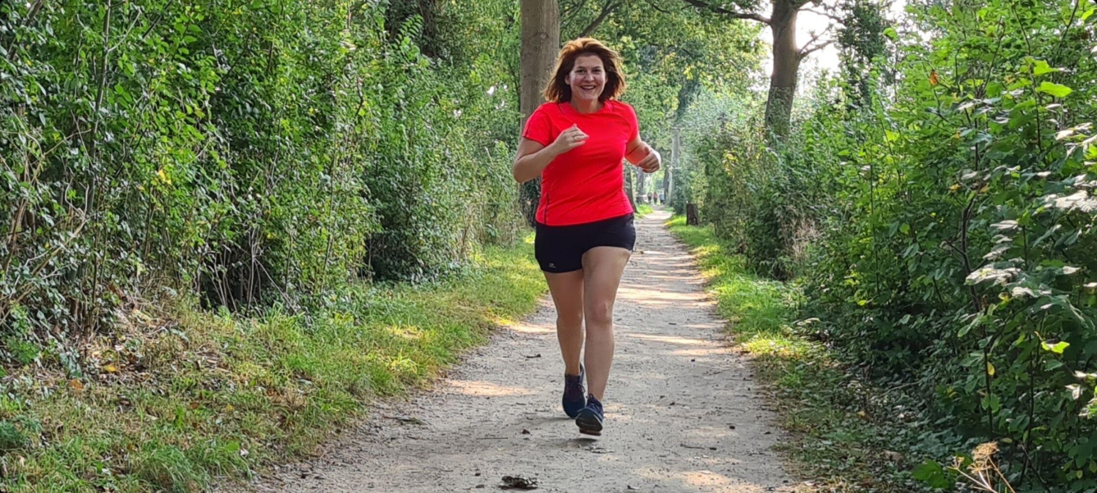 Nanette loopt 10 km voor Stichting Maximaal Geluk