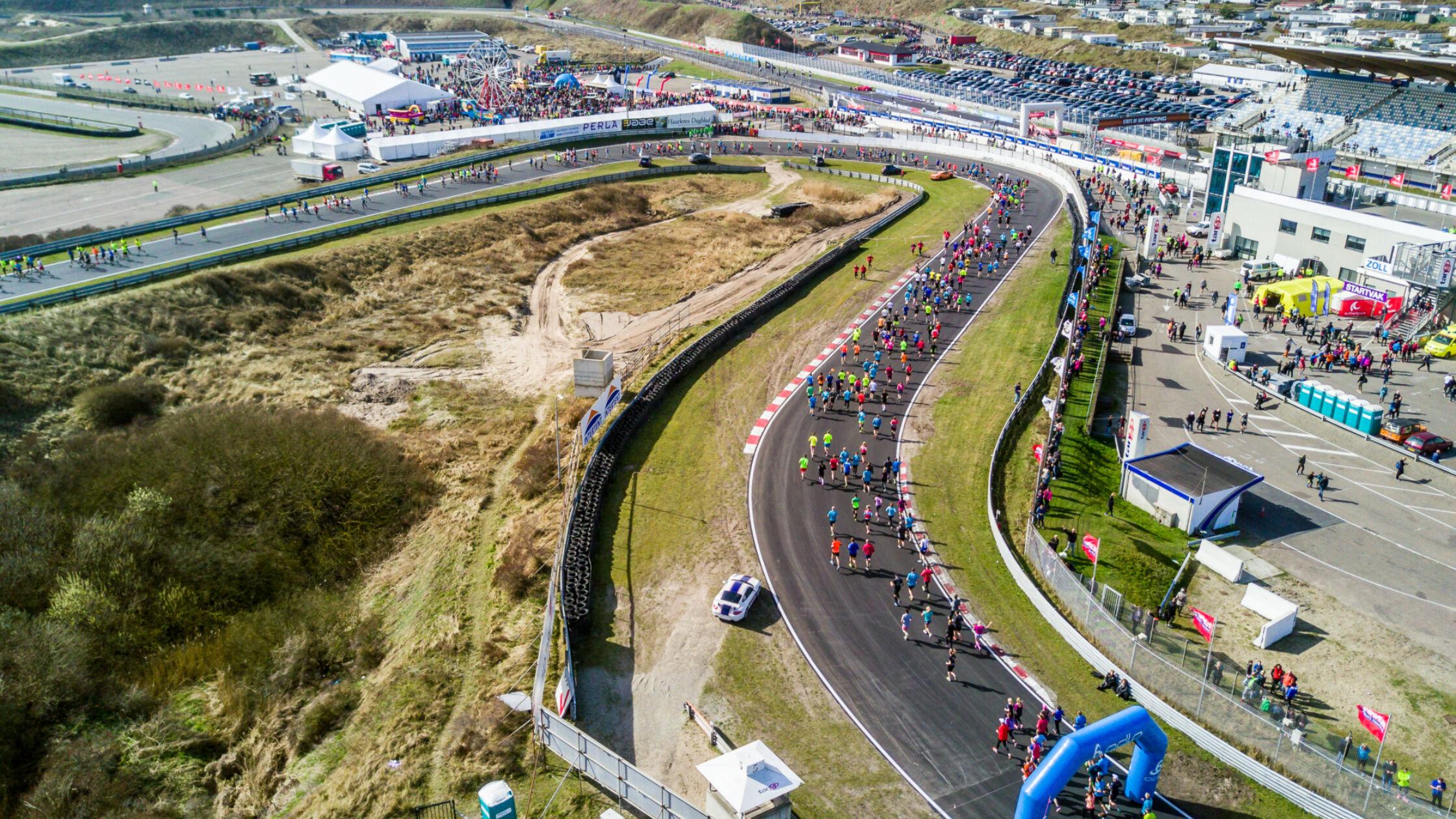 Start vanuit jouw eigen virtuele pitstraat tijdens de Zandvoort Circuit Run!