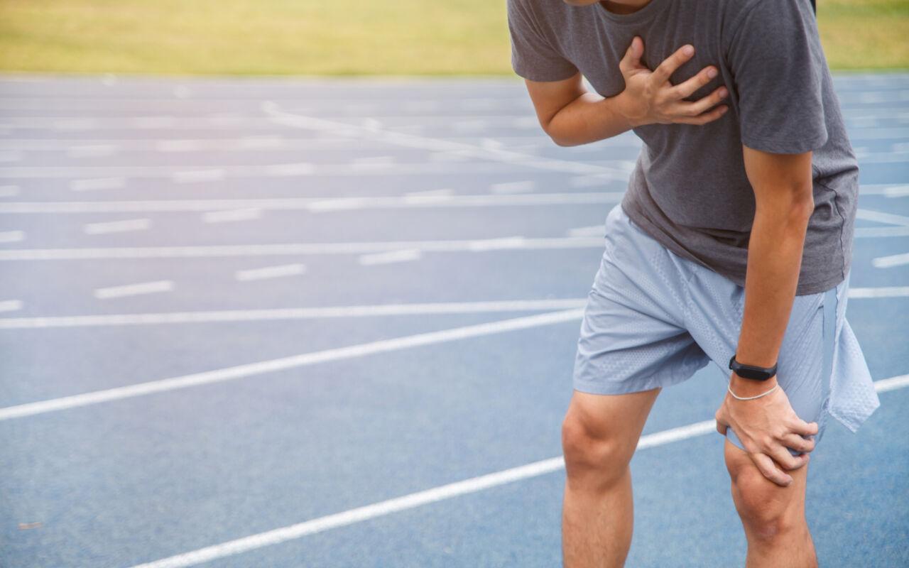 Pijn op de borst tijdens hardlopen