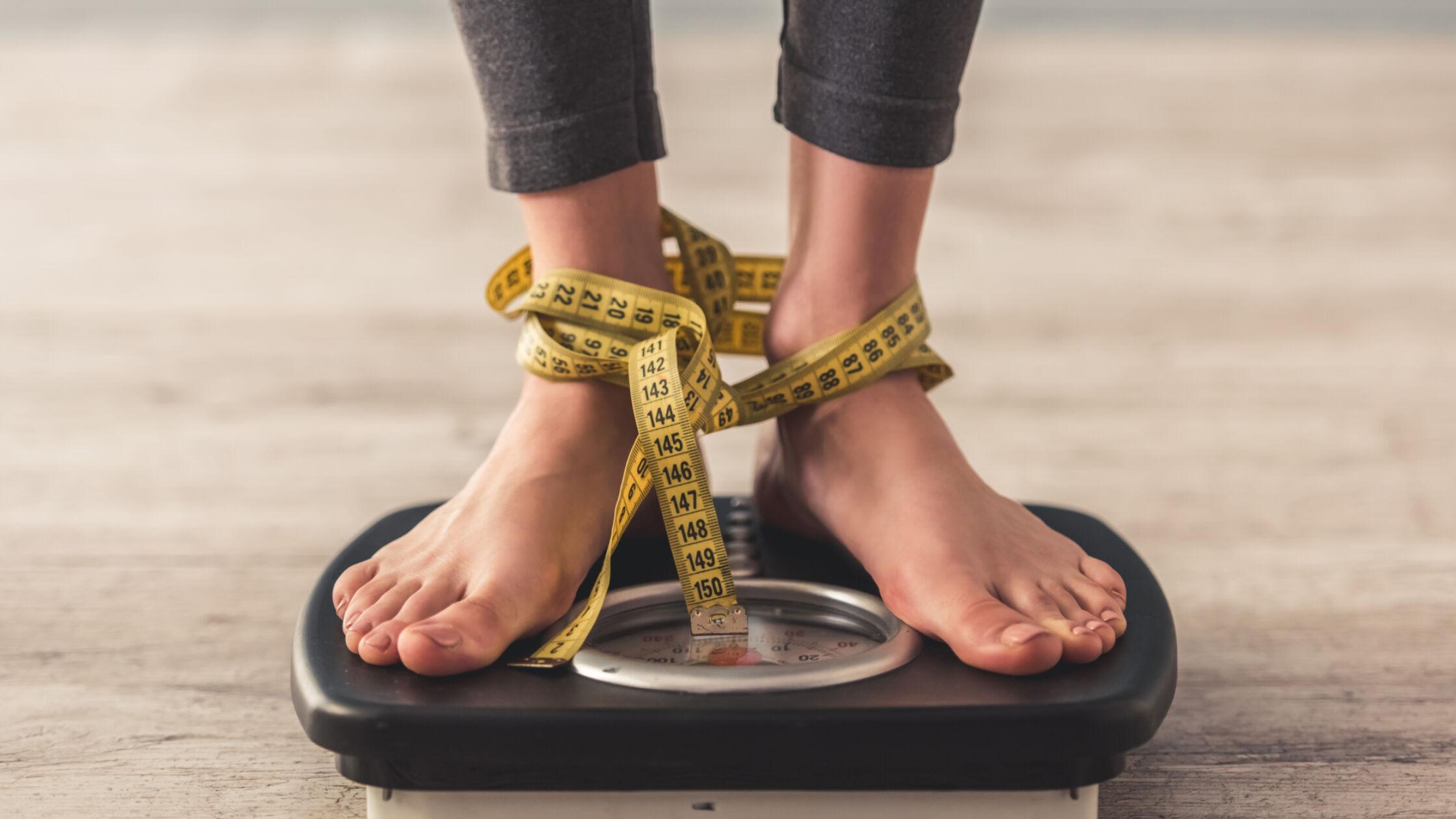 Gewichtsschommelingen: het getalletje op de weegschaal