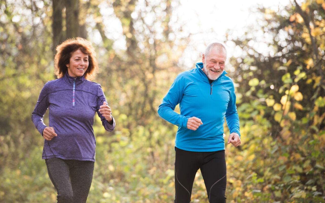 Nooit te oud om te beginnen met hardlopen