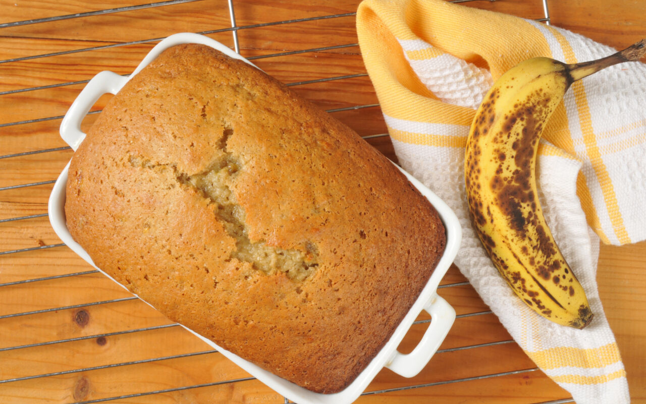 Bananenbrood: bomvol bouwstoffen voor hardlopers