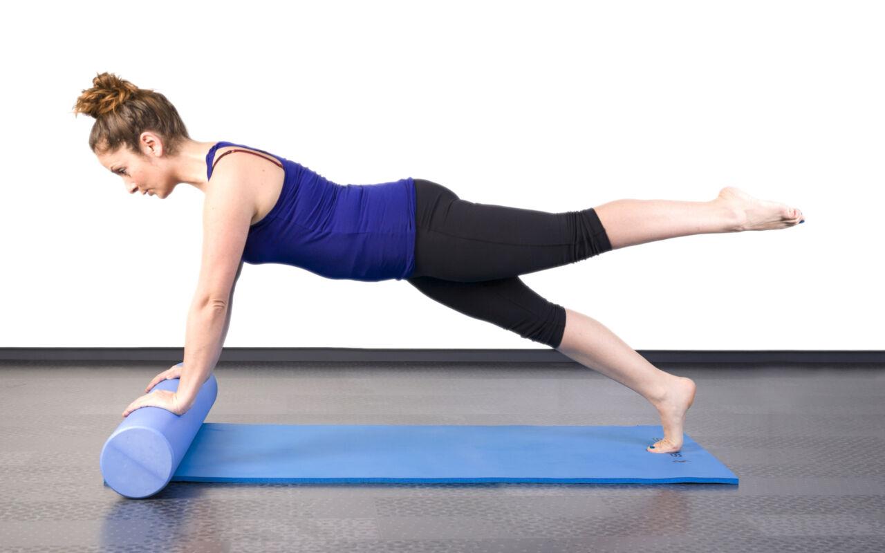 Ontspan je spieren, gebruik eens een foamrol