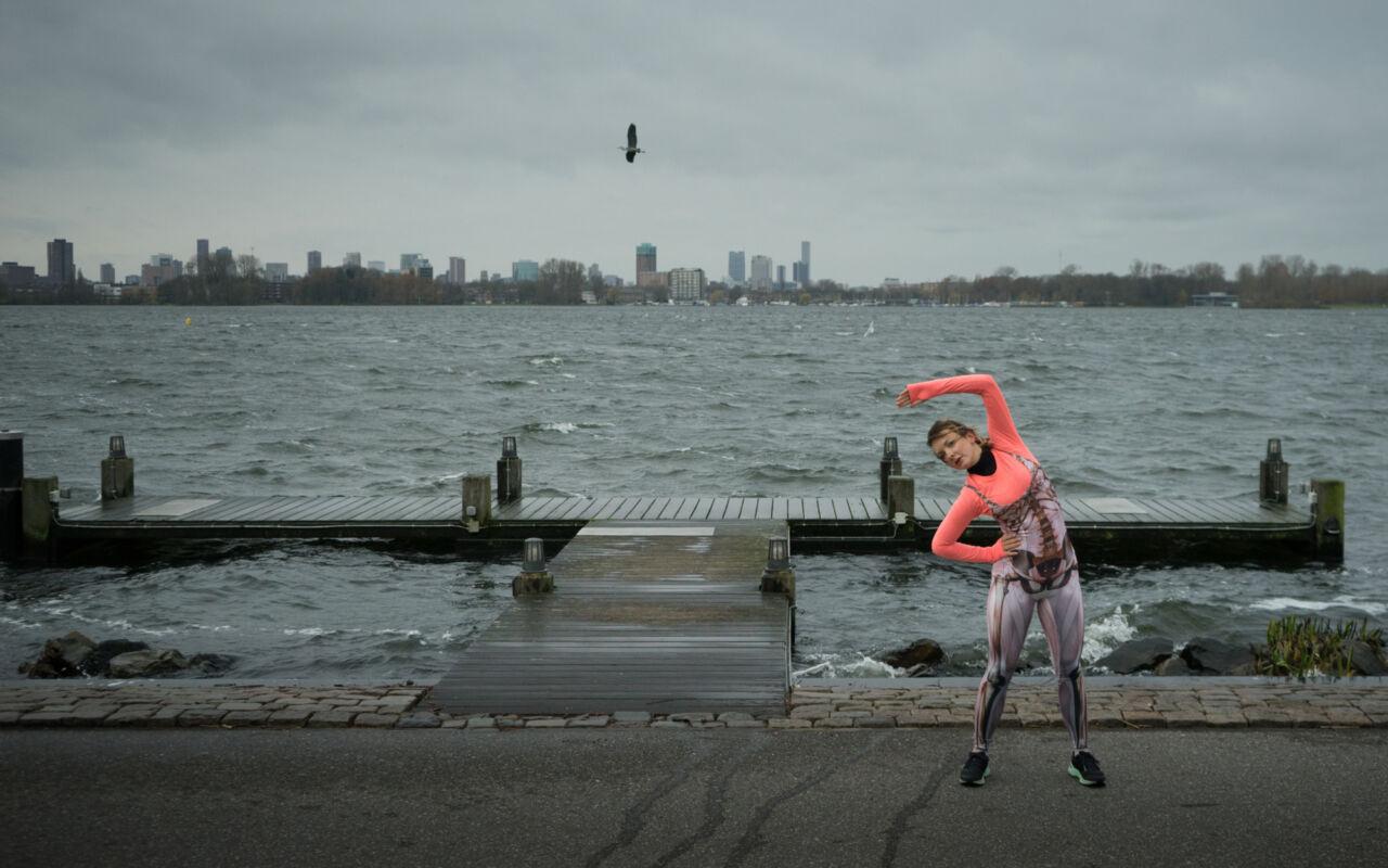 Ren mee met de Joggingman en pik mooie verhalen op