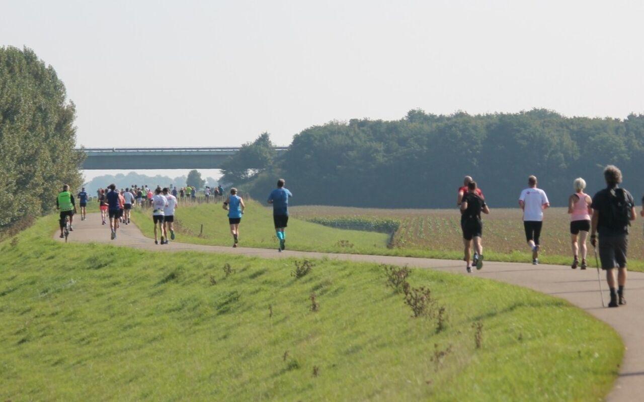 Maas en Waalse Dijkenloop: voor elk wat wils