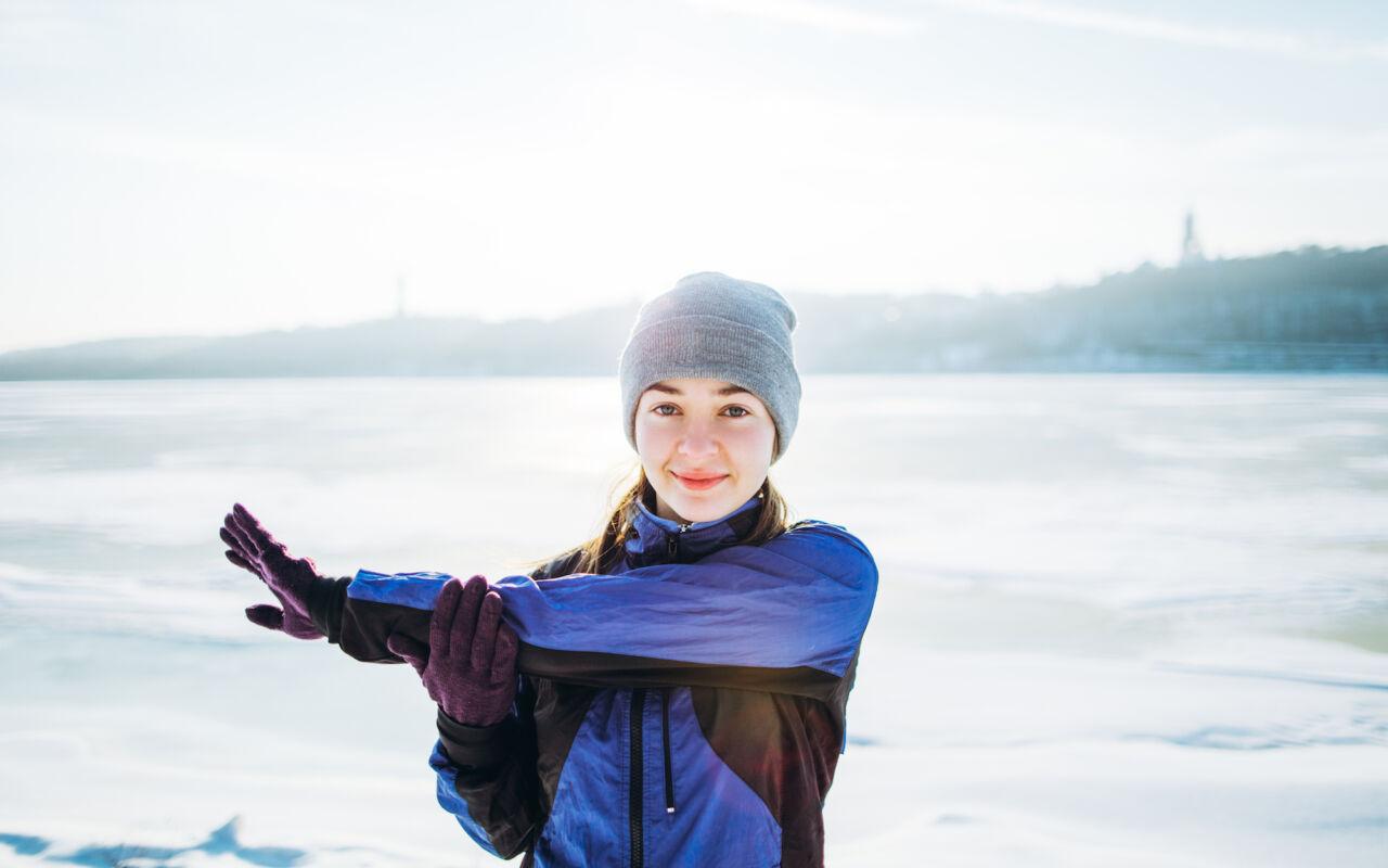 Onmisbaar in de kou: muts en handschoenen