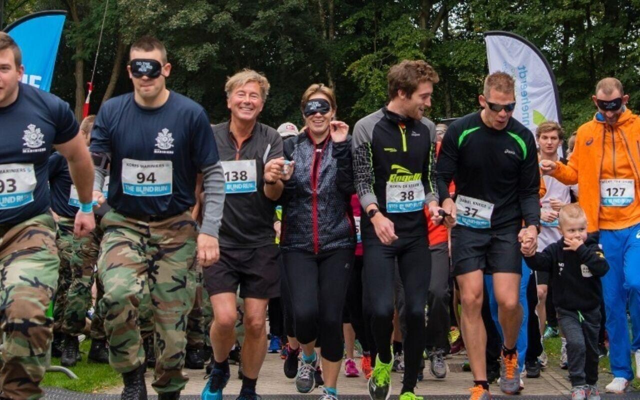 The Blind Run, samen hardlopen voor blind sporten.