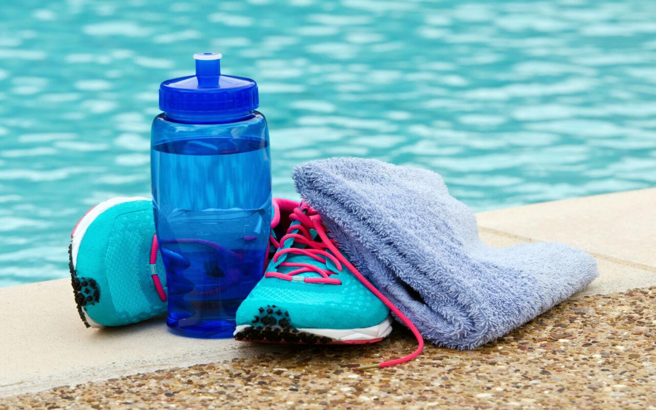 Aquajoggen: hardlopen in het water