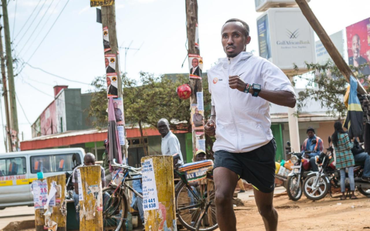 De gedachten van Abdi voor en tijdens die 42,195 kilometer