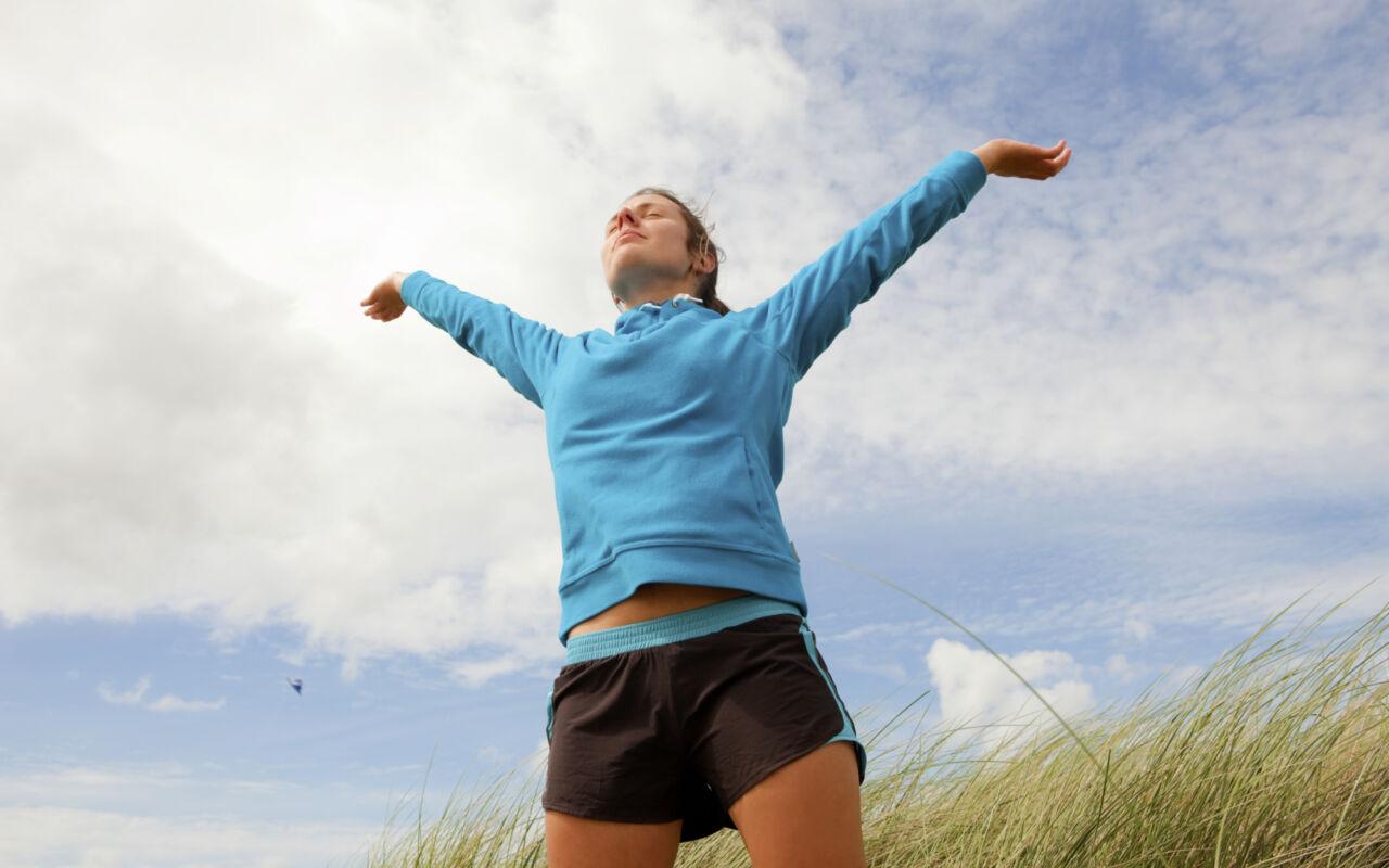 Doe ademhalingsoefeningen tijdens het hardlopen