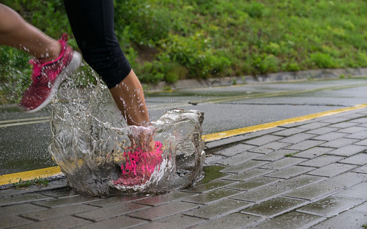 Rob Veer: hardlopen in de regen kan geen kwaad