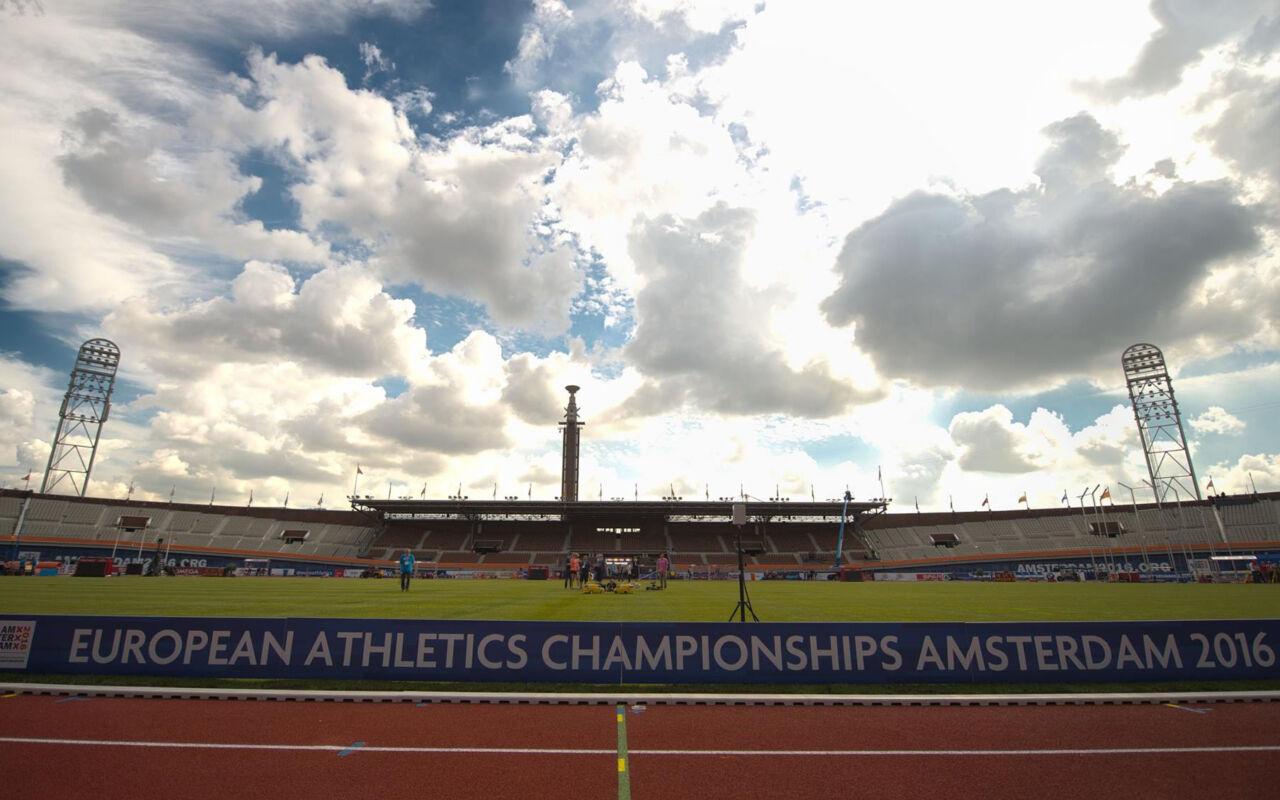 Vanaf vandaag: EK Atletiek Amsterdam!