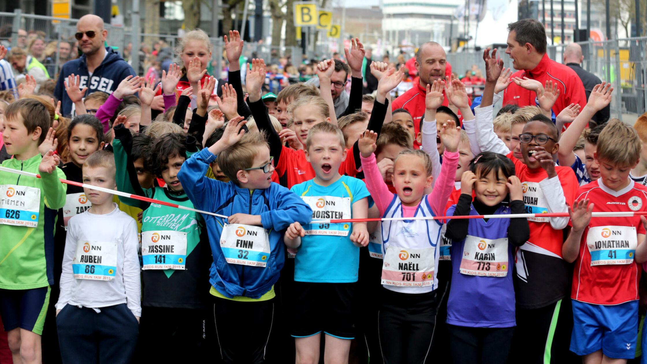 Loop jouw NN Marathon Rotterdam voor het Jeugdsportfonds