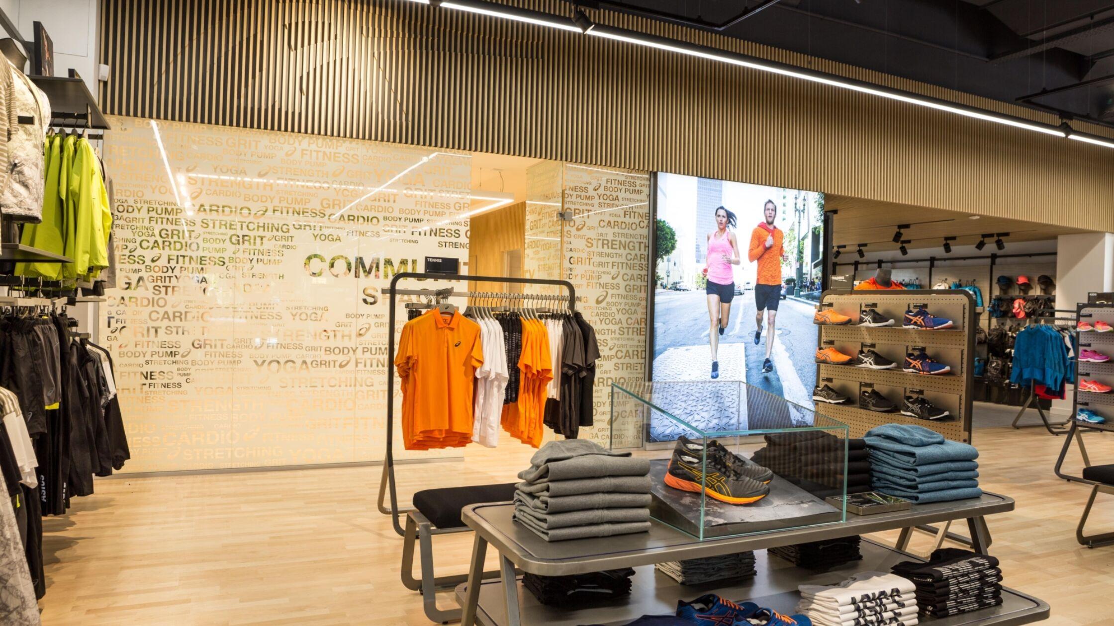 ASICS lanceert nieuw winkelconcept in Amsterdam