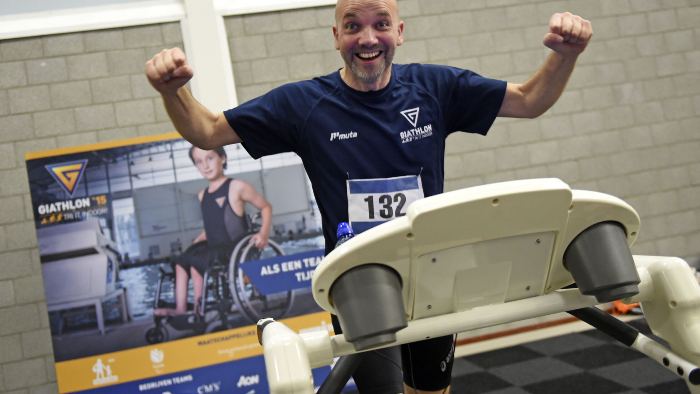 Doe mee aan de Giathlon en steun de gehandicaptensport