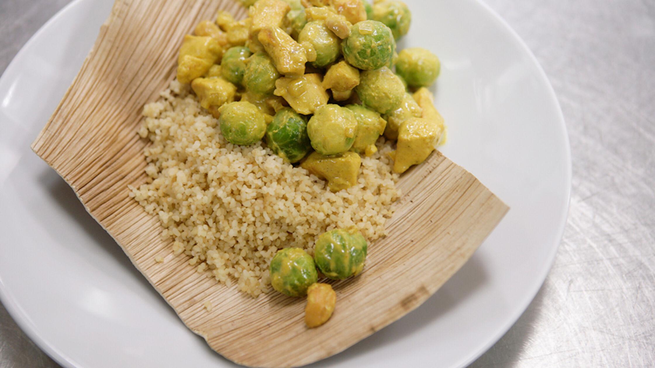Recept: kip-cashew met spruitjes