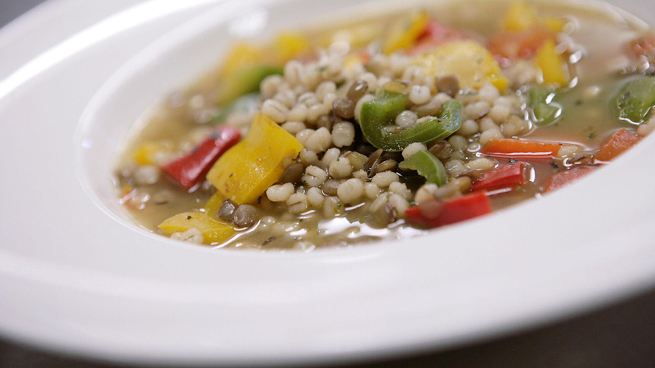 Recept: lentillesoep met paprika