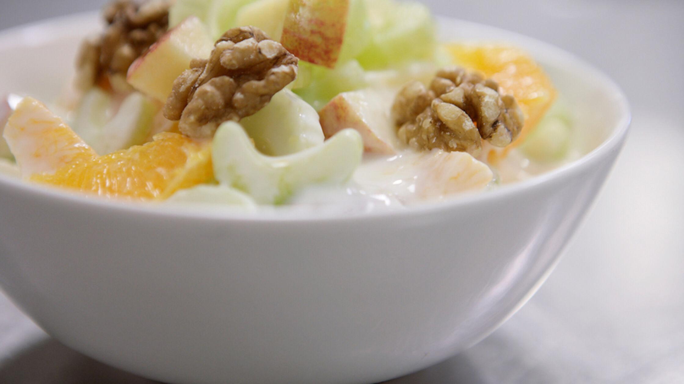 Recept: ontbijt waldorfsalade