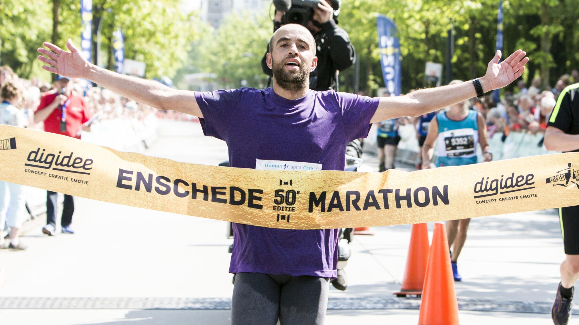 Gouden editie Enschede Marathon