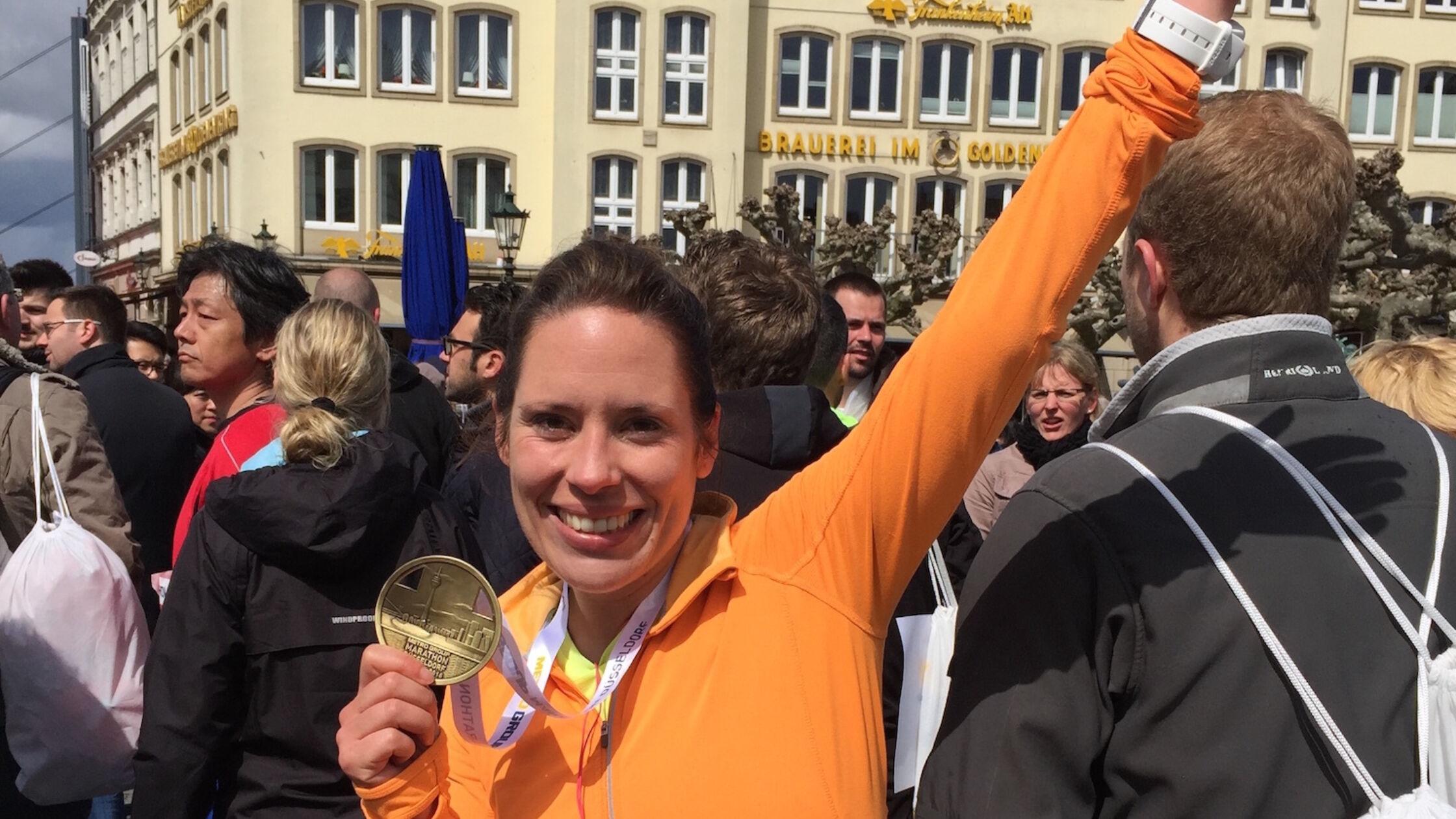 Hardlopen in het buitenland: Düsseldorf Marathon