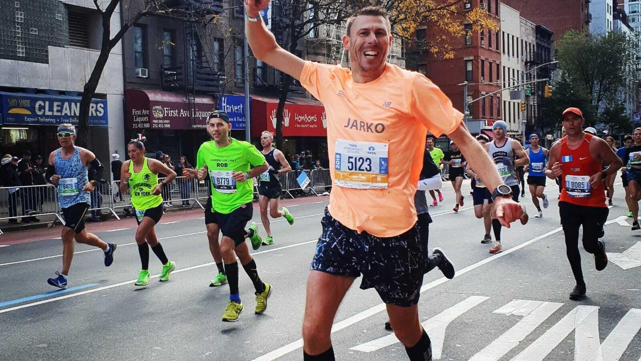 Jarko: 'Een marathon loop je niet zomaar'