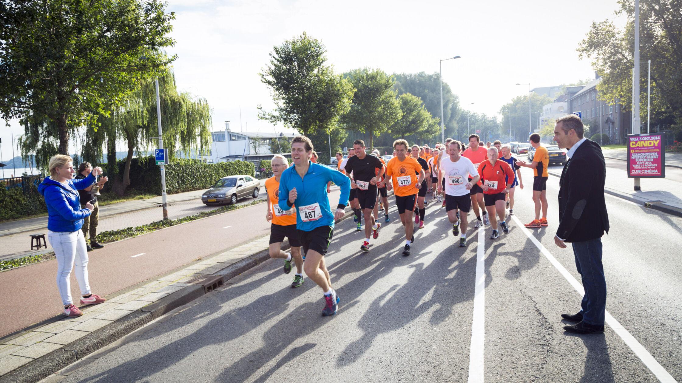 Samen met Andrea Deelstra naar de NN Marathon Rotterdam