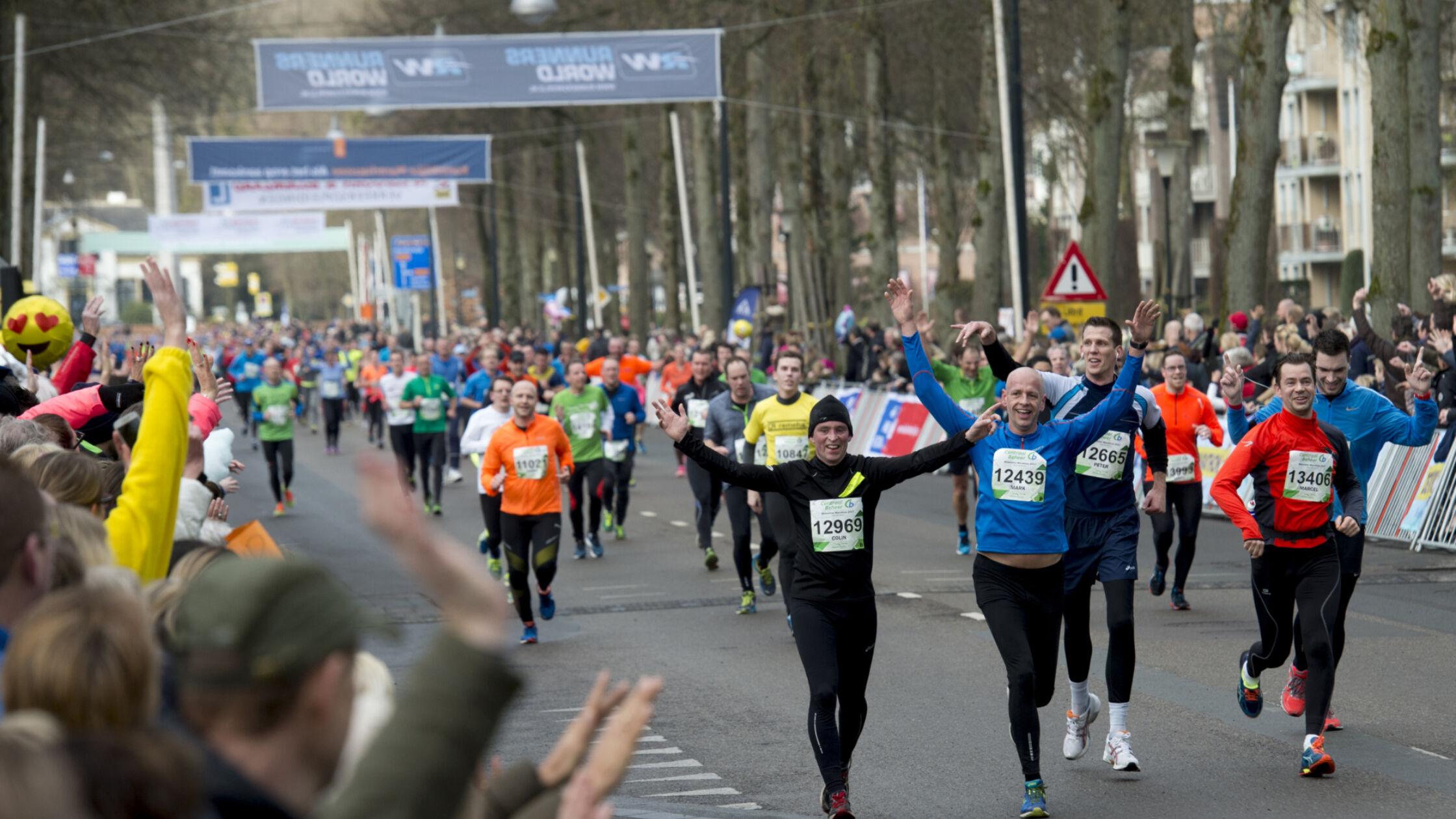 Geslaagde 45ste editie van de Centraal Beheer Midwinter Marathon