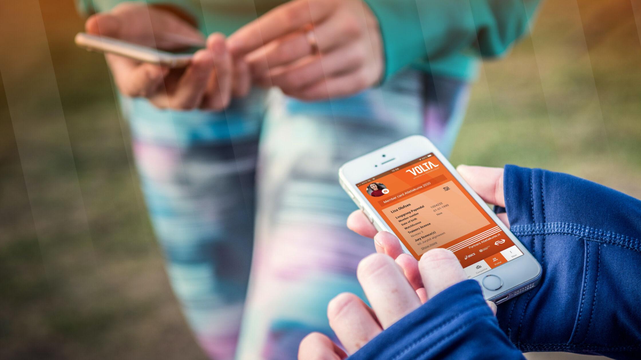 Atletiekunie lanceert mobiele app Volta