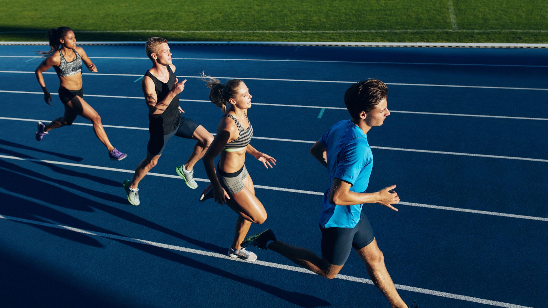 De basisregels voor een training op de atletiekbaan