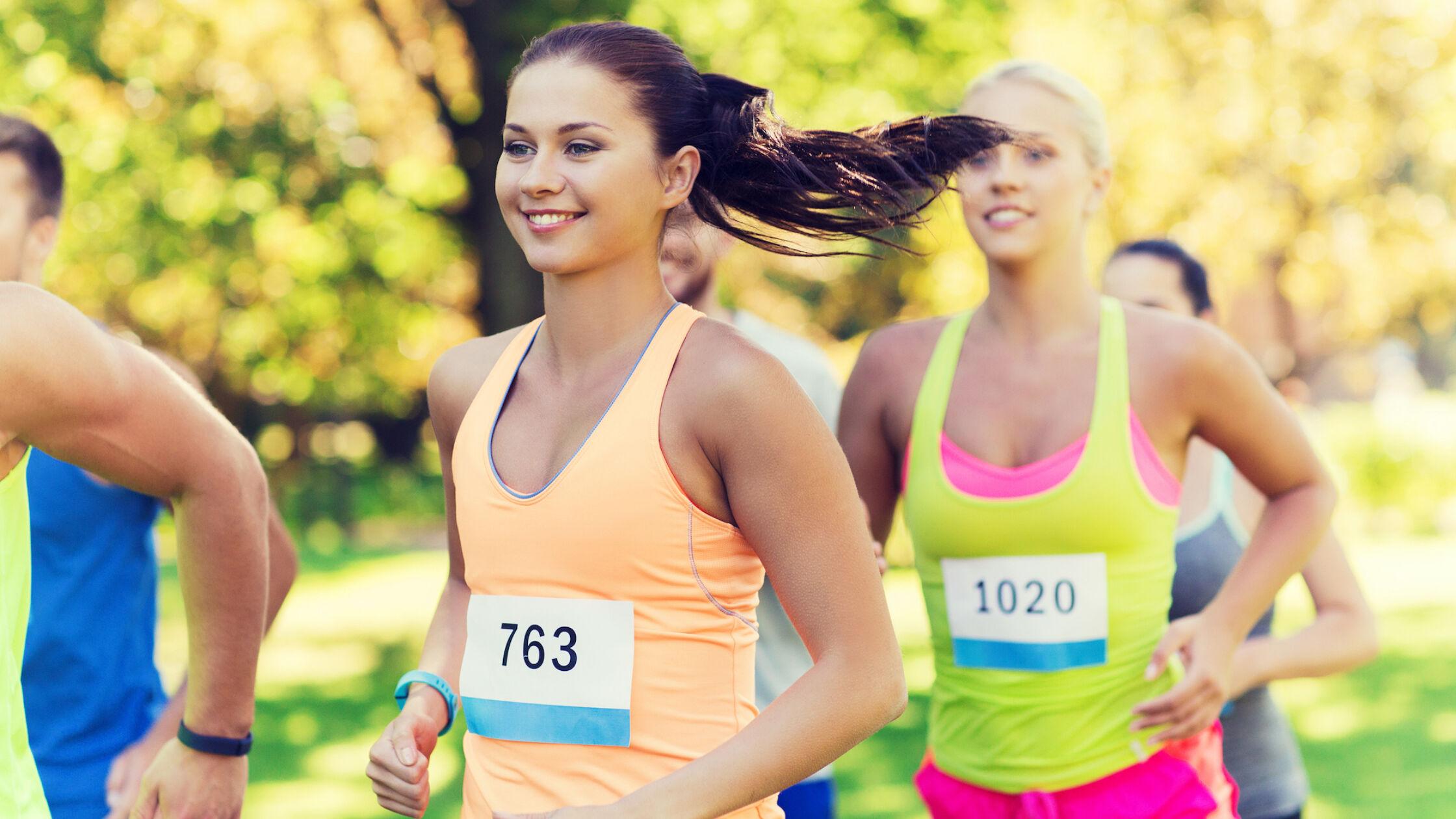Loop je sneller als je lacht?