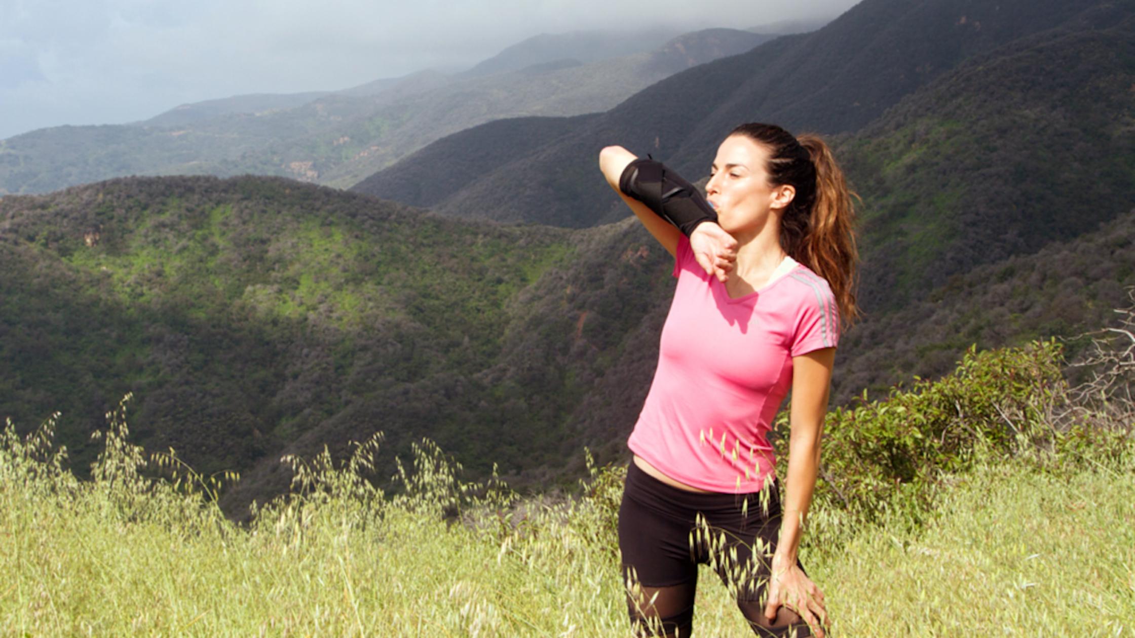 Handsfree drinken tijdens het hardlopen