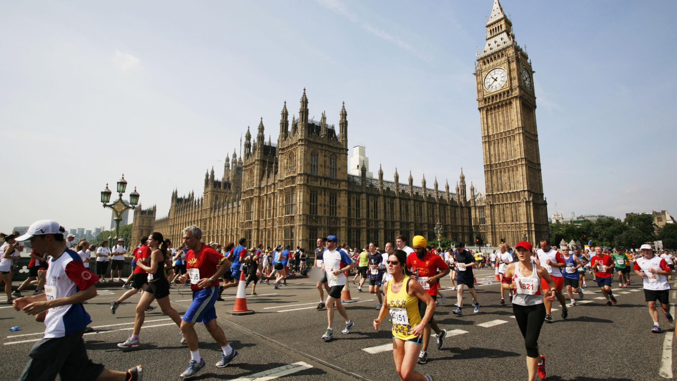 Strava brengt gemiddelde marathonvoorbereiding in kaart