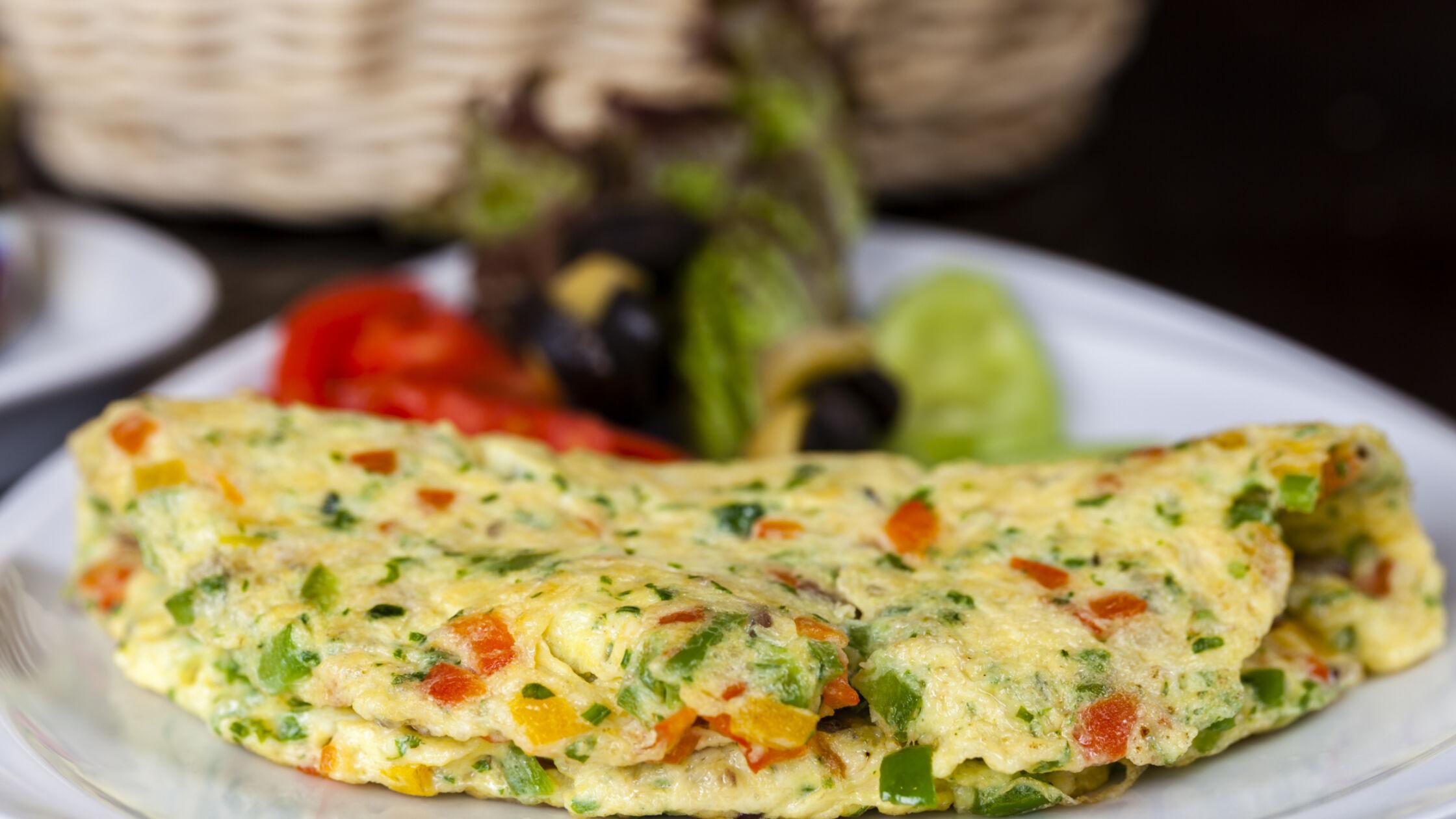 Omelet: een snelle (herstel)maaltijd