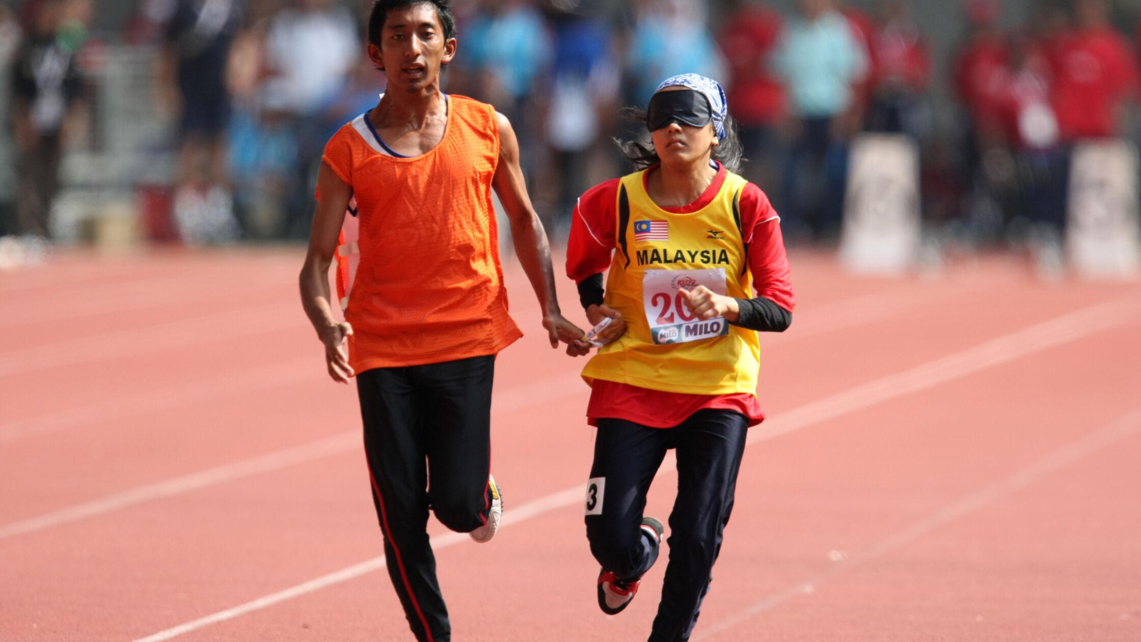 De Running Blind Dag: leuk voor lopers én buddy's
