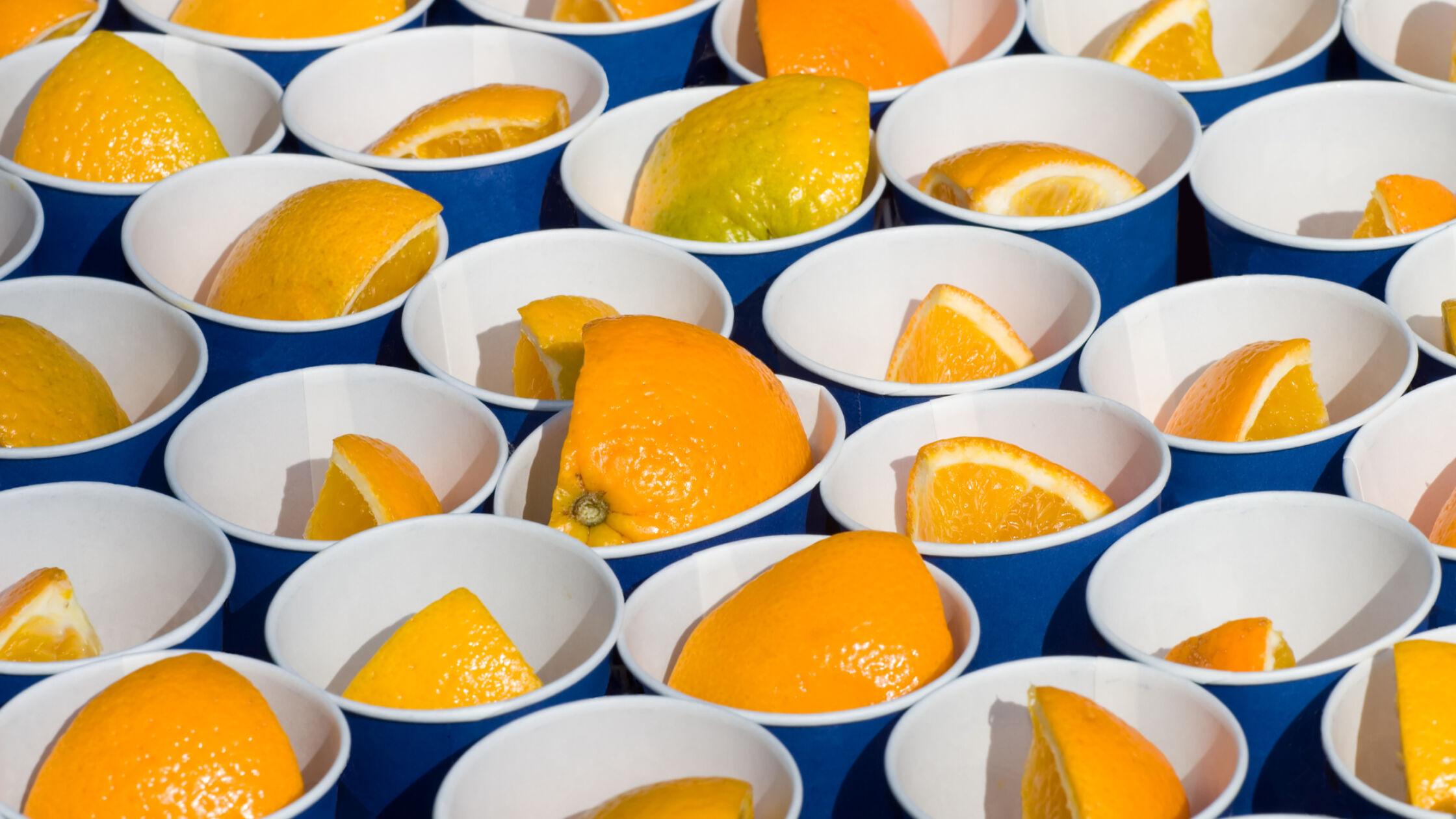 Het oranje goud: sinaasappels