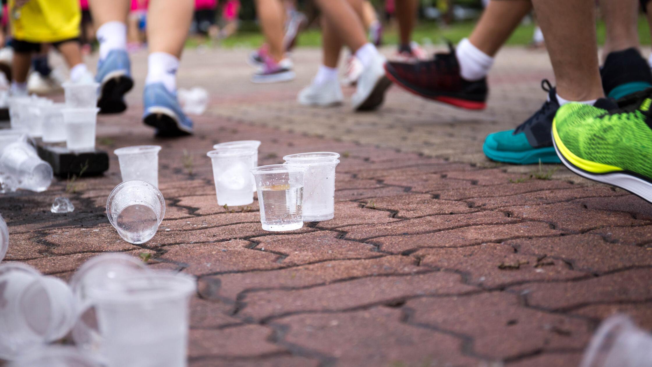 Troeptrimmen: hardlopen en afval opruimen