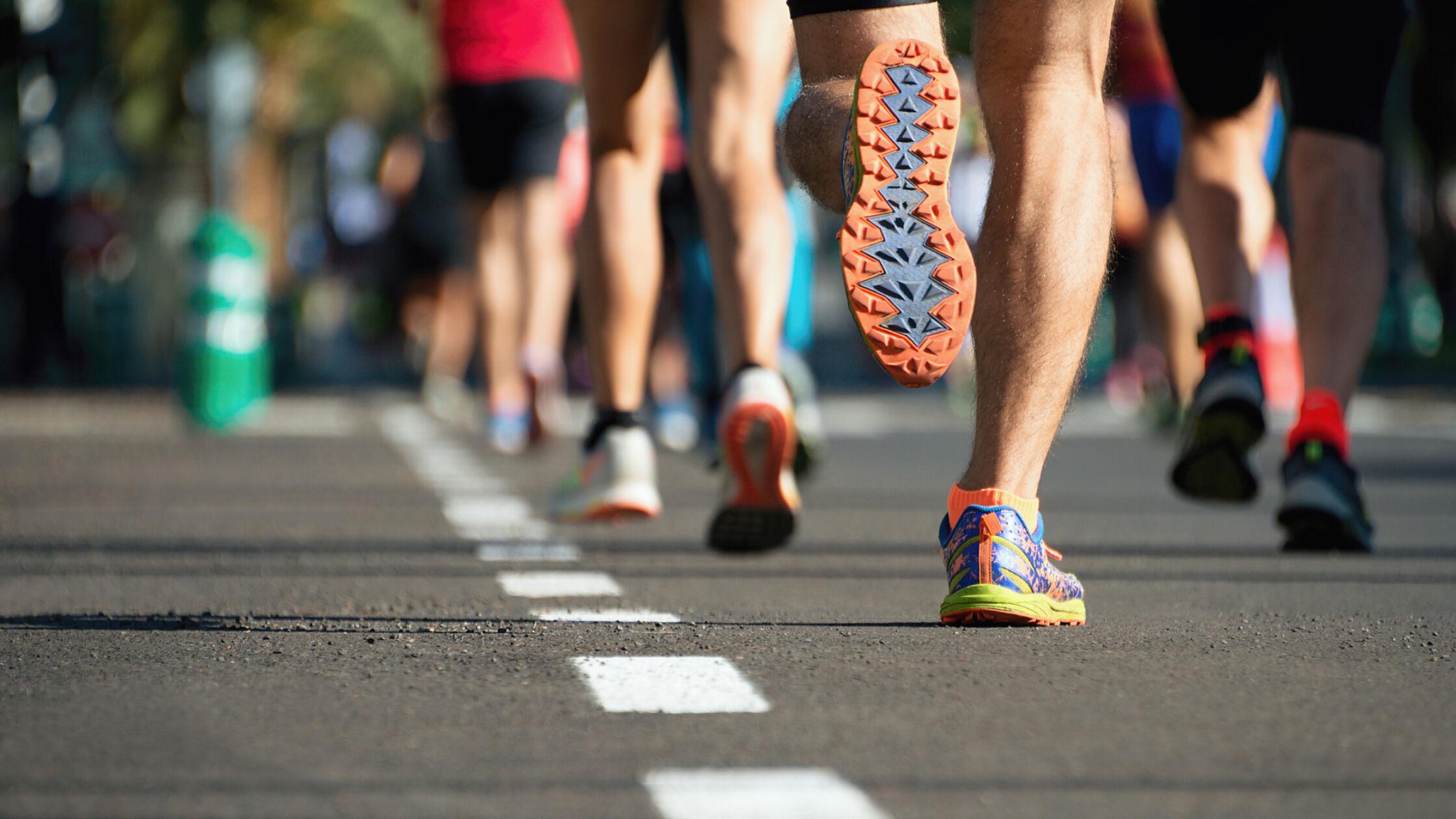 Herstellen na een marathon