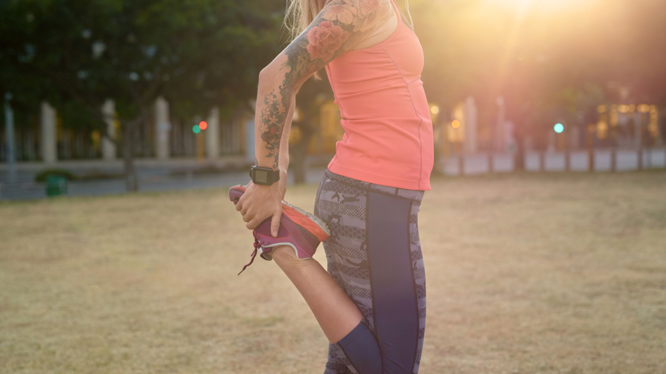 Minder zweten door een tatoeage