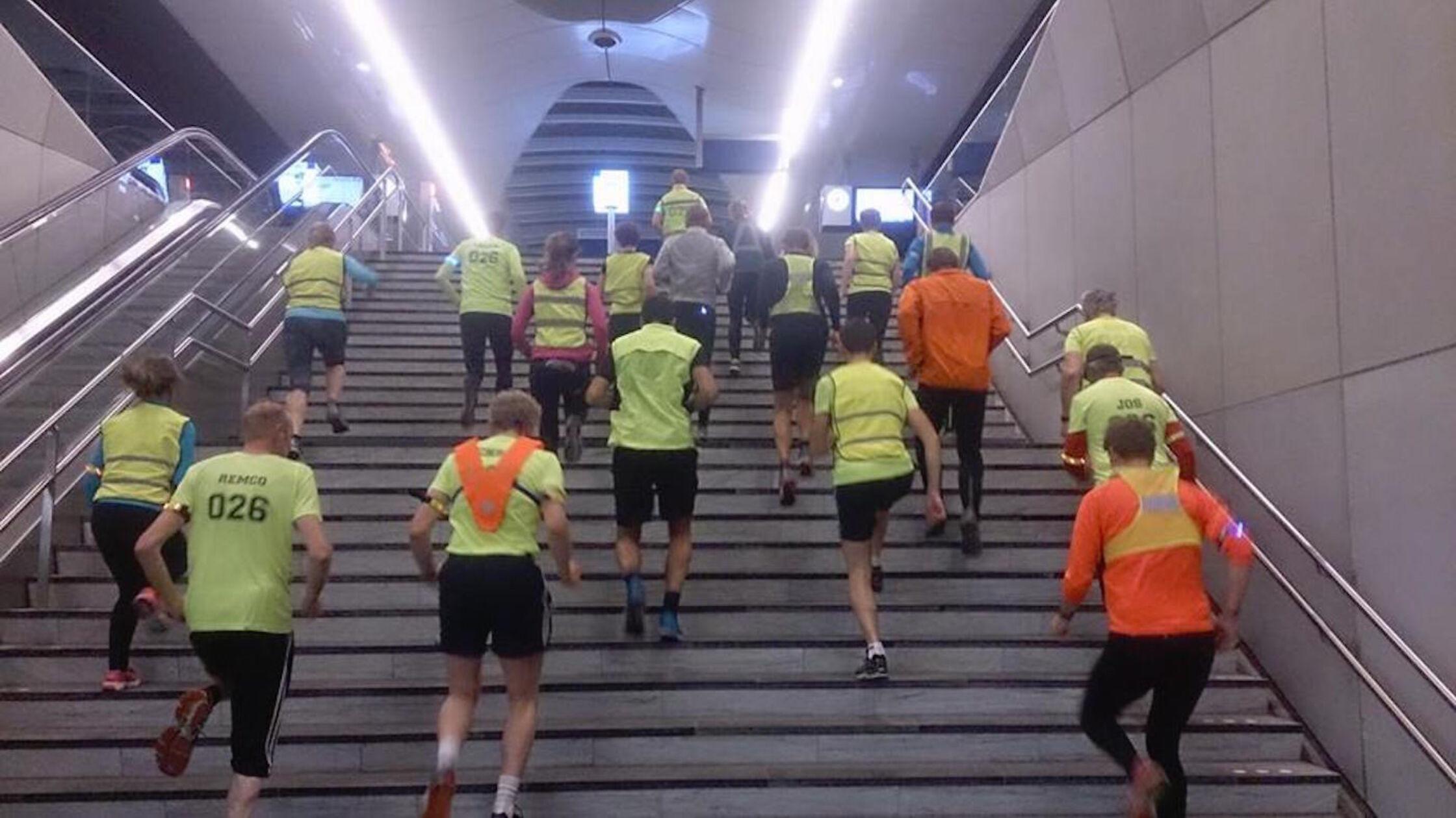 Volg de gele zwerm van Social Run Arnhem en Nijmegen