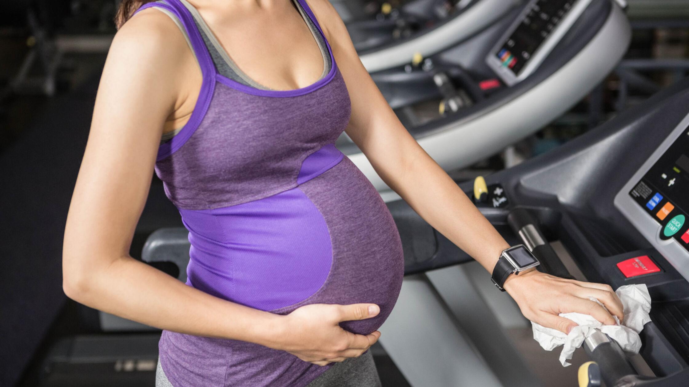 Hardlopen tijdens de zwangerschap?
