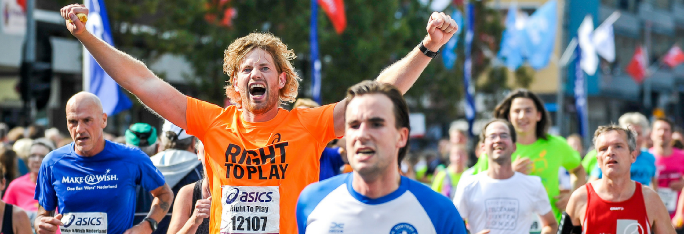 De ultieme Dam tot Damloop ervaring met Right To Play!