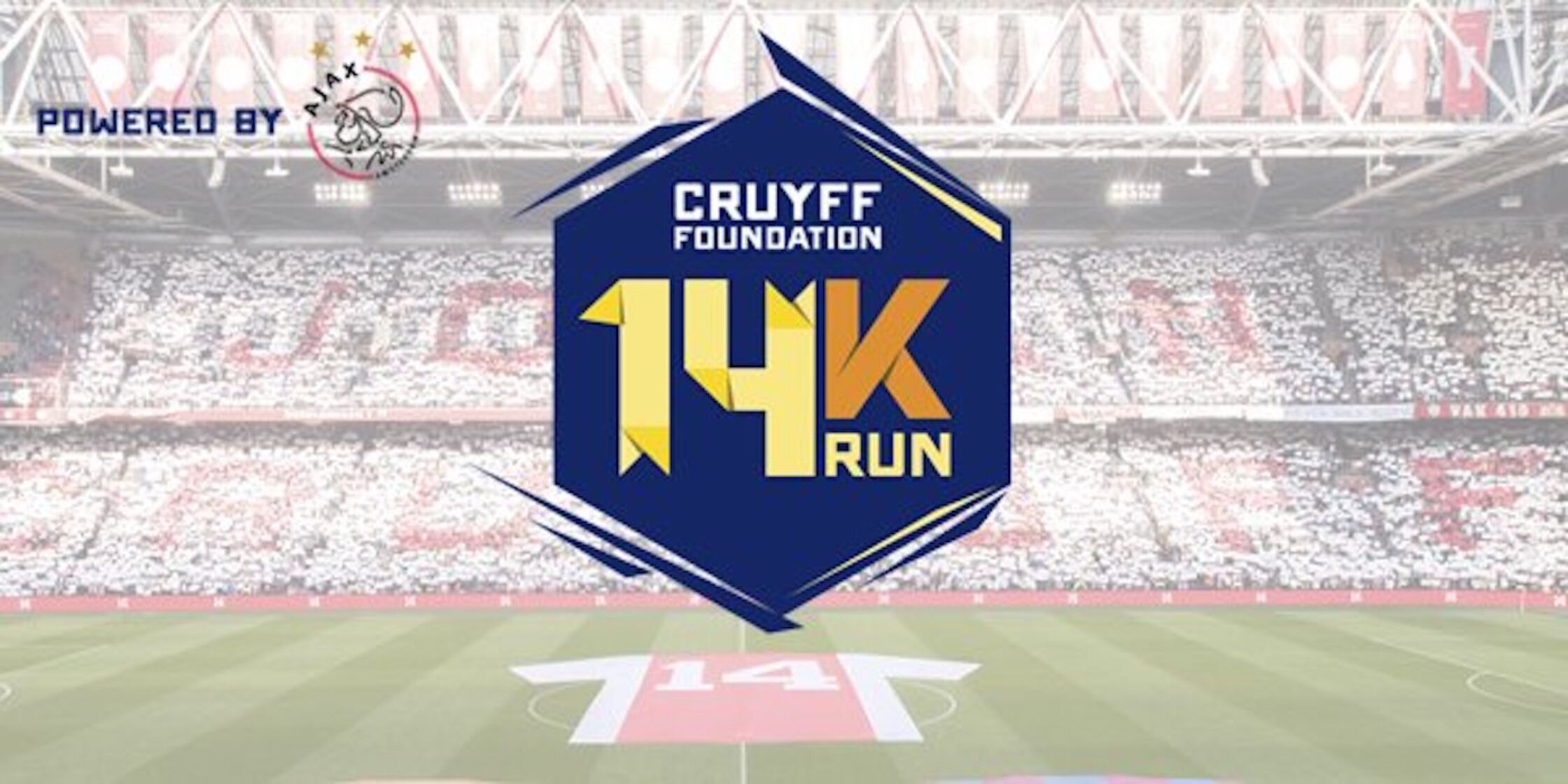 Inschrijving Cruyff Foundation 14K Run geopend!