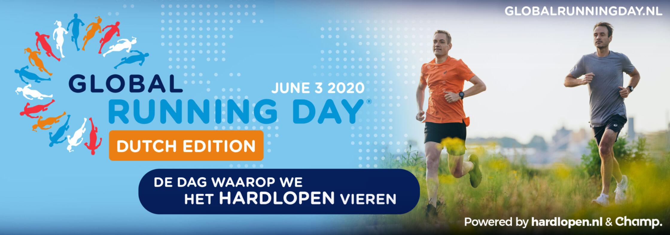 Heel Nederland in beweging op Global Running Day!