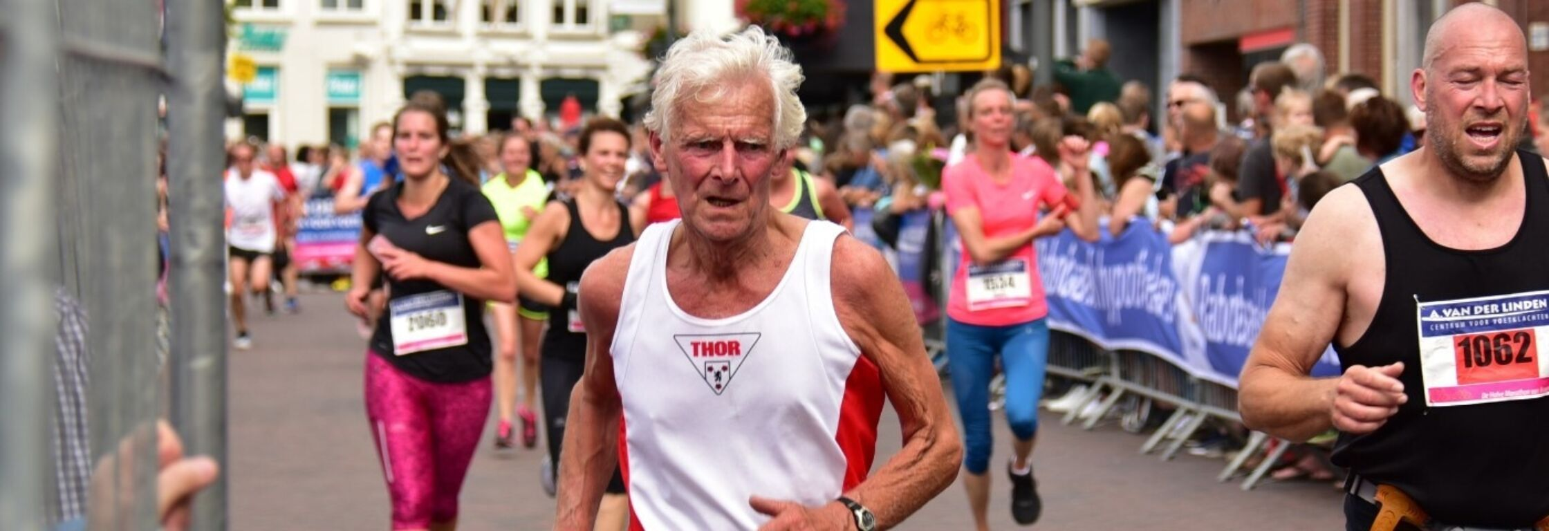 Wat is het geheim van de 79-jarige Gilles Bosman?